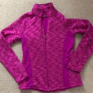 Tek gear size small pink zip
